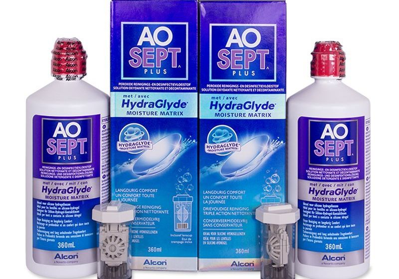 Soluție AO SEPT PLUS HydraGlyde